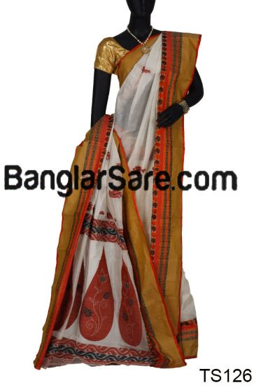 Exclusive Handloom Tussar Silk Saree (TS126)
