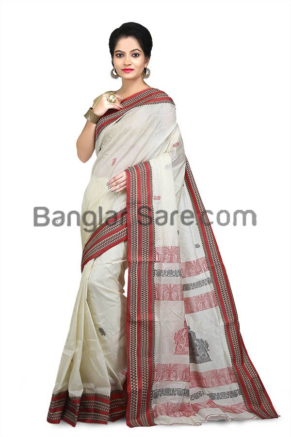 Ethnic Festival Traditional Bengali Saree