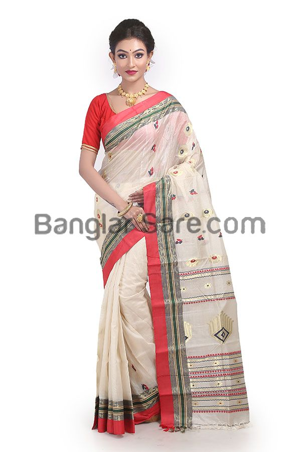 Exclusive Tussar Silk Handloom Saree (TS138)