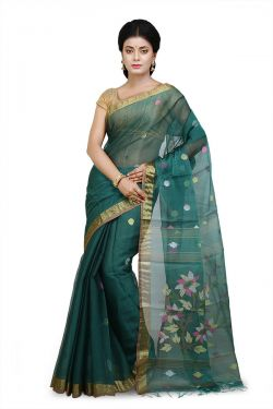 Pure Bengali Silk Cotton Saree